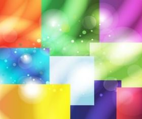 Color Boxes background vector