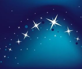 Blue Star Background vector graphics