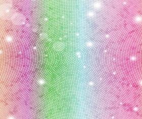 Mosaic Rainbow Background vector