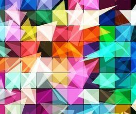 Mosaic Backgrounds 3 vectors graphics