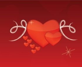 Valentine Love vectors graphics