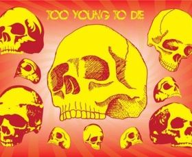 Too Young To Die vector material