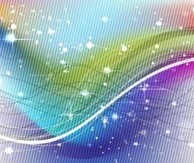 Abstract Rainbow background design vectors