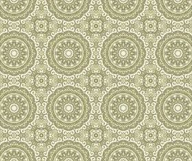 Damask Patterns (Set 42) vector