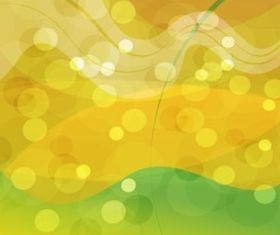 Gold Green Abstract Background vectors material