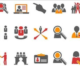 Business Icons Illustration vector