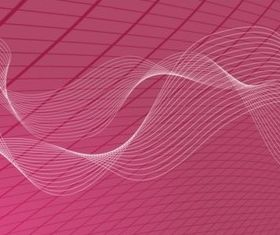 Wavy Grid Background design vector