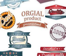 Sale Labels free vector set