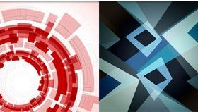 Abstract Style Backgrounds 13 vector graphics