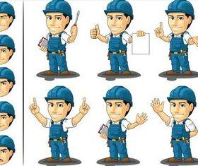 Repair Workers free vector