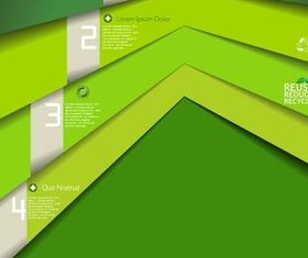 Ecology Backgrounds vector graphics
