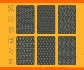 Stylish Seamless Patterns vector