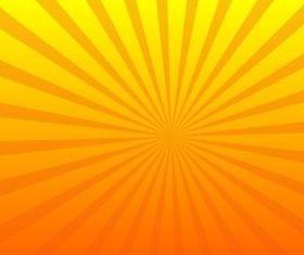 Bright Starburst background vector