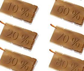 Creative Discount Stickers art vector