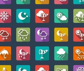 Icons graphic vector
