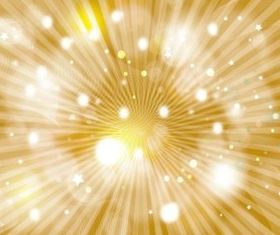 Gold Galaxy background vector set