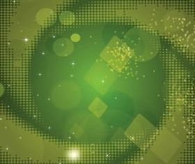 Green Dots Background vector material