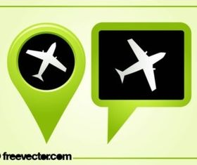 Airport Pointers vector graphics