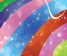Colorful Swirls Background vector