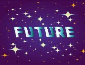 Future background vector
