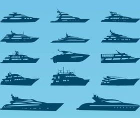 Yacht vectors graphic