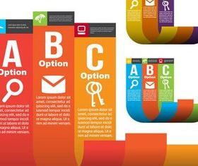 Options Elements art vectors graphics