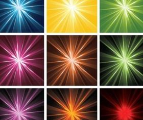 Radiant Backgrounds vector