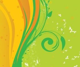 Fresh Spring Background vectors graphic
