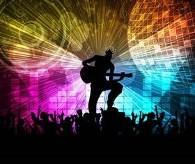 Party Backgrounds Set 8 vector