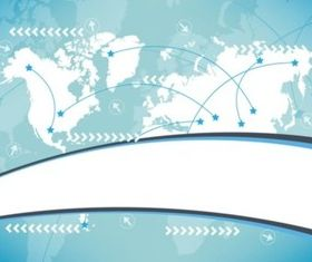 World Background shiny vector