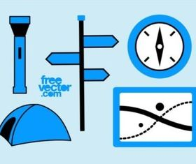 Free Camping Icons vectors