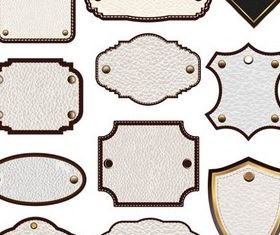 Leather Elements vector