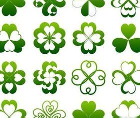 Green Elements design vectors