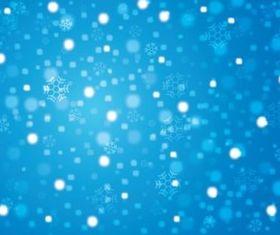 Winter Background vectors material