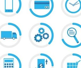 Business Creative Icons vector design