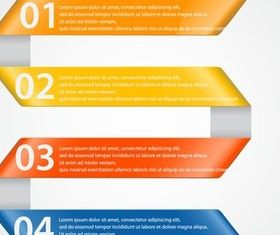 Infographic Backgrounds 25 vector