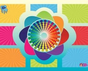 Colors background Graphics vector
