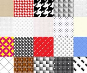 Patterns Swatches shiny vector
