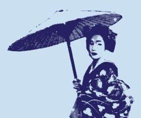 Geish Graphics vector