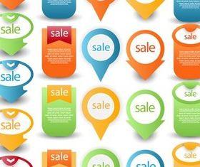 Sale Elements design vectors