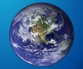 Earth Graphics vector set