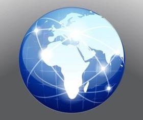Globe Vector material