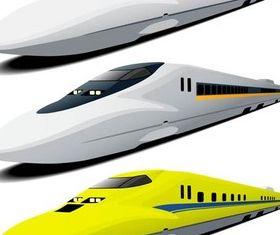 Modern Trains vector