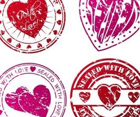 Creative Valentines Elements vector graphic