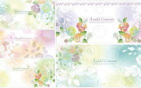 Dream flowers 04 vector