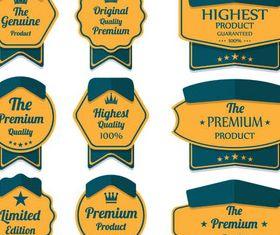 Sale Yellow Elements vector