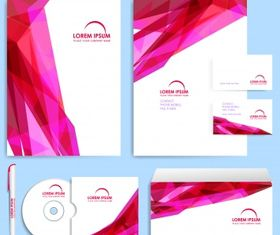 Company brochure design template vectors graphic