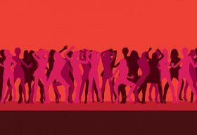 Disco dance vectors graphic