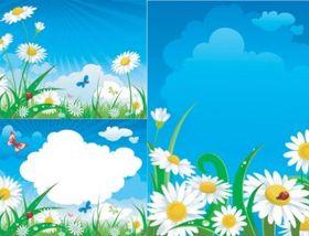 midsummer Flower vector