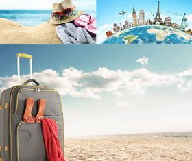 Travel Concepts Set vector